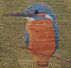 Or Nue Kingfisher By Sally Chapman