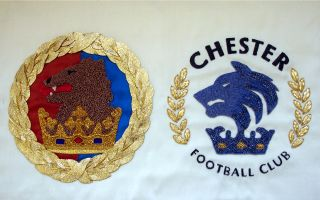 Chester Football Club old & new crests by TC