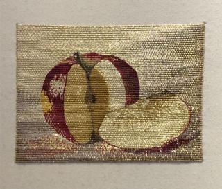 Golden Royal Gala Apples in Or Nue by Ruth Mills, Canada