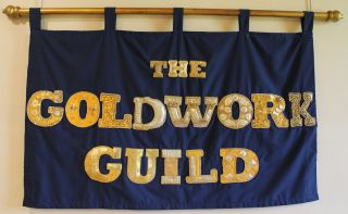 The Goldwork Guild Banner worked by members