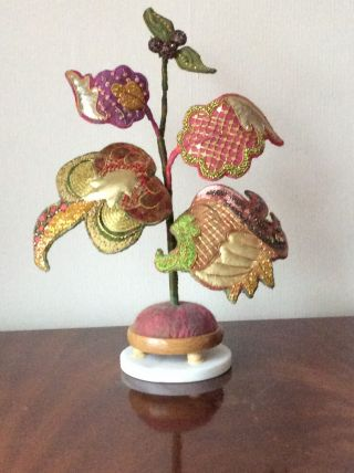 Crewel Work Re-imagined by Judy Jackson